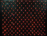 СВЕТОВАЯ СЕТКА, 2х3 метра -красный