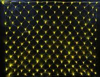 ГИРЛЯНДА СЕТЬ, 2*3 метра- цвет желтый