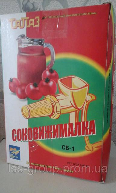 Ручная соковыжималка для томатов Полтава