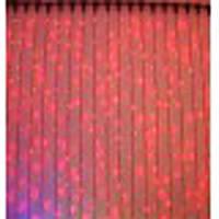 ГИРЛЯНДА ДОЖДЬ световой 2х1,5 метра -красный, фото 1