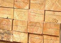 Балка деревянная 4 - 4,5 м, 100х200 мм