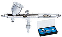 Аэрограф профессиональный металлический FENGDA BD-180 0,25 мм