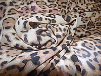 Шифон принт леопард