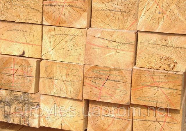 Балка деревянная 4 - 4,5 м, 150х150 мм - Пиломатериалы - Чернигов, Днепропетровск в Чернигове