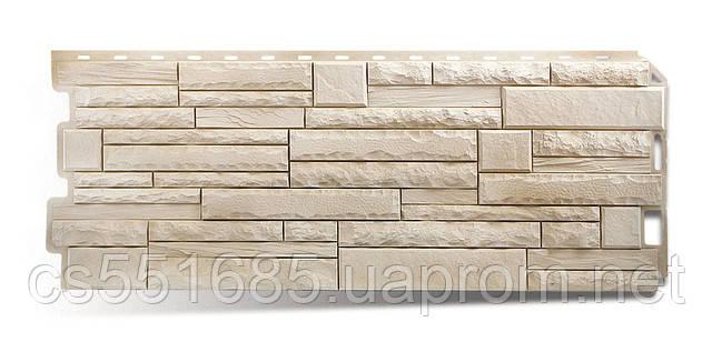 Альпы - коллекция Скалистый камень. Фасадный (цокольный) сайдинг Альта-профль