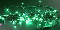 ГИРЛЯНДА НИТЬ светодиодная, 10 метров- зеленый, фото 1