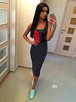 Модное женское повседневное платье ONE LOVE