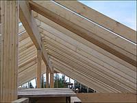 Стропила деревянные 4 - 4,5 м, 50х150 мм