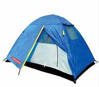 Двухслойная двухместная палатка Coleman 1001 с москитной сеткой