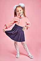 Нарядная школьная блуза для девочки