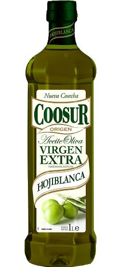 Масло оливковое Coosur Hojiblanca extra virgen Испания, 1 л.