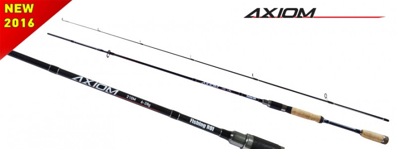 Спиннинг Axiom 3-15g 2.40m