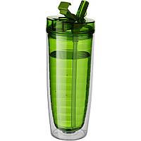 Термобутылка для питья «Sipper» зеленая