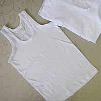 Майка  бельевая мальчика 2 лет.  Турция.  Белые майки, футболки, белье для детей