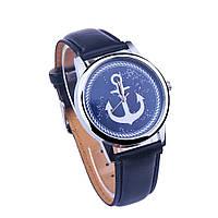 Женские наручные часы Ziz Якорь синие, фото 1