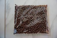 Шарики пенопластовые для декора,цвет темно коричневый