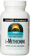 L-Methionine Source Naturals 100g
