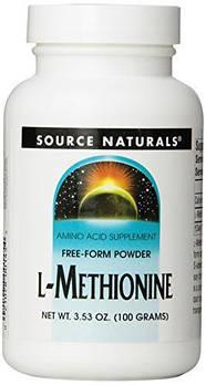 L-Methionine Source Naturals 100g