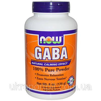 GABA NOW Foods 170 g (340 порций)