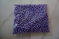 Шарики пенопластовые для декора,цвет фиолетовый