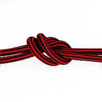 Провод в тканевой оплетке (красно-чёрный) new collection