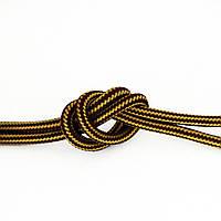 Провід в тканинній обплетенні (жовто-коричневий) new collection