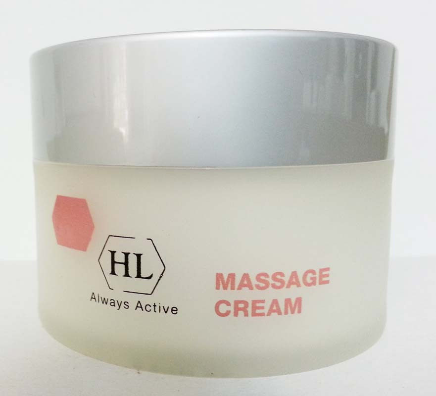 Holy Land Body Products Massage cream - Крем массажный Холи Ленд, 250 мл