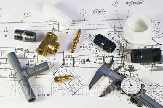 Проект отопления - Магазин отопительной техники Домтепло в Полтаве