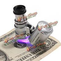 Микроскоп ювелирный 60x LED