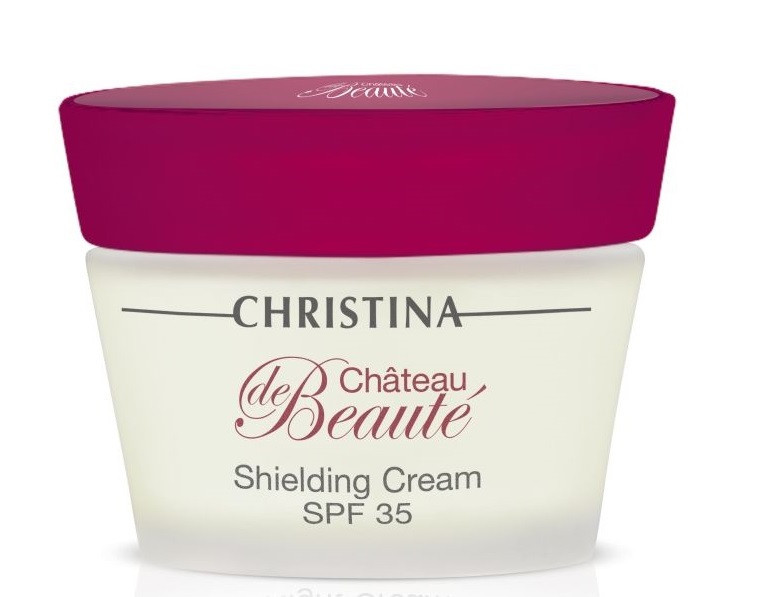Christina Chateau de Beaute Shielding Cream SPF 35 — Защитный крем SPF 35 Кристина, 50 мл