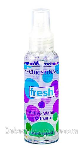 Christina Fresh Active Citrus Water — Активная вода «Цитрус» Кристина, 100 мл