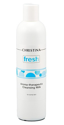 Christina Fresh-Aroma Theraputic Cleansing Milk for normal skin — Очищающее молочко для нормальной кожи с геранью Кристина, 300 мл