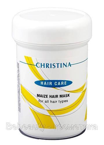 Christina Maize Hair Mask for all hair types — Кукурузная маска для всех типов волос Кристина, 250 мл