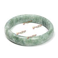 Китайский зеленый нефрит драгоценный камень браслет ювелирных изделий