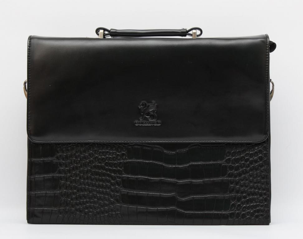 Вместительная мужская сумка. Деловой мужской портфель. Хорошее качество. Удобная сумка. Купить. Код: КДН360