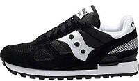 Мужские кроссовки Saucony Shadow Original (Саукони) черные