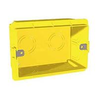 Монтажная коробка. 3-модуля. Unica Allegro MGU8.603