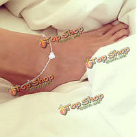 Сладкая любовь сердца сплава ноги лодыжки цепи для женщин регулируемые