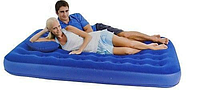 Надувной матрас Bestway 67374 (203х152х22) с подушками и насосом