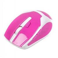 Мышь беспроводная Maxxtro Mr-317-R розовая USB
