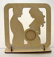 Оригинальная рамочка для узи -снимка или фотографии  (заготовка рамочка)