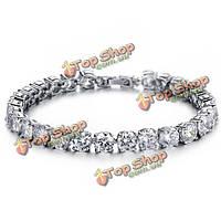 Кубический цирконий алмаз невесты браслет свадебные украшения