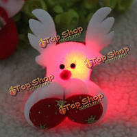 Рождественский олень погладить круг удар свечение браслет рождественский подарок