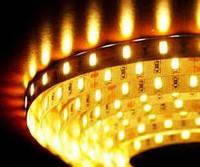 Світлодіодна стрічка 12V smd5630 ІР65 3200К біла 60led герметична, фото 1