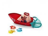 Lilliputiens - Игрушка для ванной: Рыбацкая лодка