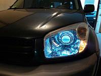 НАШИ РАБОТЫ: Установка билинз в Toyota RAV4