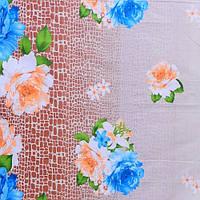 Бязь Голд Букеты синих роз