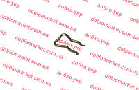 Фиксатор трубки обратки форсунок металлический, Арт. 055187666, 55187666S, 55245385S, OBK