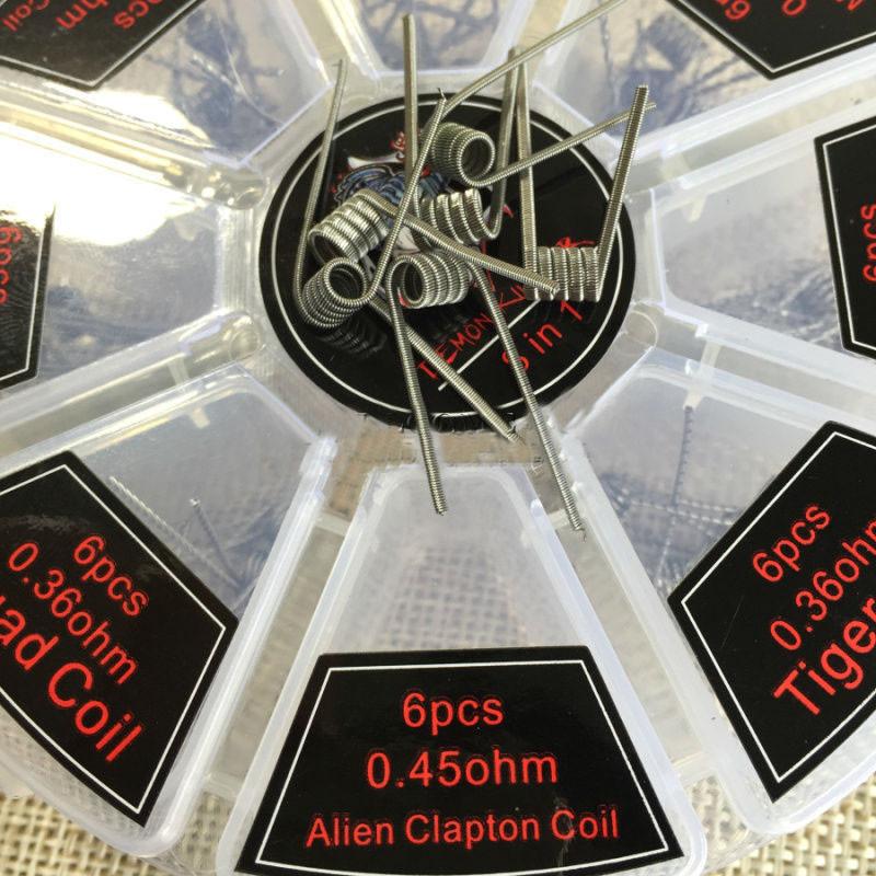 Alien Clapton coil 0.45ohm 1шт.