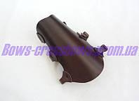 Крага защитная для лучника на ремешках кожа